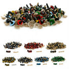 100x Funny 8mm Plastic Safety Eyes For Teddy Bear Doll Animal Puppet Crafts