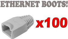100Pcs. Ethernet RJ45 Cable Boots CAT5 CAT6 Connector Boot Plug Cover SKU#552