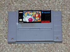 Super Bowling Super Nintendo SNES Cartridge