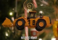 Custom Caterpillar CAT 980K Wheel Loader 1/93 Christmas Ornament Deere Volvo