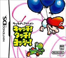 Used Nintendo DS Catch! Touch! Yoshi! Japan Import (Free Shipping)