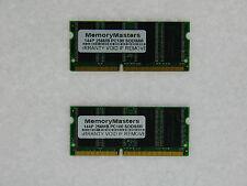 512MB  (2X256MB) 32X64 144 PIN PC100 8NS 3.3V NON ECC SDRAM SO DIMM