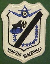 Marine Fighter Squadron VMF-214 Blacksheep Patch
