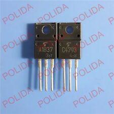 5PAIRS OR 10PCS Transistor TOSHIBA TO-220FP 2SA1837/2SC4793 A1837C4793