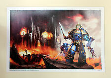 Warhammer 40k Black Library Roboute Guilliman A3 Limited Ed Gallery Print 63