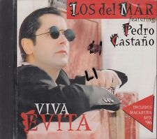 Los Del Mar Featuring Pedro Castano Viva Evita CD New Sealed