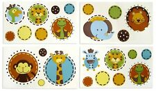 * Free Shipping * Jungle Tales Wall stickers Removable Decals By NoJo