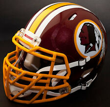 WASHINGTON REDSKINS NFL Authentic GAMEDAY Football Helmet w/S2BDC-TX-LW Facemask