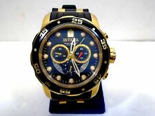 INVICTA PRODIVER MENS WATCH MODEL 6981 BLACK /GOLD 100 METER WATER RESIST