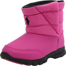 Polo Ralph Lauren Pink draeden Botas Junior Girls Childs Nuevo Y En Caja Uk Size 1