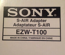 SONY S-AIR Wireless Transmitter EZW-T100 EZWT100 Adapter for BRAVIA Theater