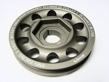 VMS Racing Underdrive Single Belt Crank Pulley Integra Civic Si CRV Del Sol DOHC