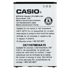 NEW OEM Casio BTR781B HITACHI G'Zone GZONE Ravine 2 C781 BTR781 Battery