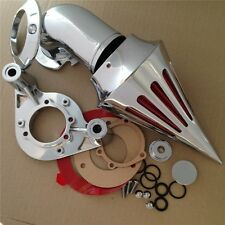Chromed Spike Air Cleaner Kits For Harley Dyna Touring models