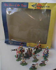 BRITAINS Herald 7480 Swoppets Knights Wars Of The Roses Boxed Set Rare Free P&P