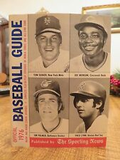 OFFICIAL BASEBALL GUIDE 1976 (The Sporting News)