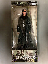 """2000 N2 TOYS THE MATRIX FILM TRINITY, TRENCHCOAT & ACCESSORIES 12"""" ACTION FIGURE"""