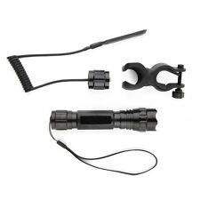 XML-T6 LED 2000LM Tactical Mount Flashlight Torch Shotgun/Rifle Hunting Light F5