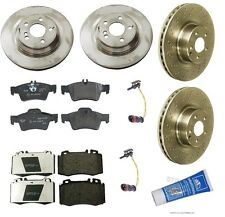 NEW Mercedes-Benz W220 S500 2003-2006 Base Complete Front & Rear Brake KIT OEM