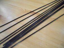 CARBON FIBRE PUSH RODS - 4 x PIECES  - 2mm x 200mm