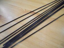CARBON FIBRE PUSH RODS - 6 x PIECES  - 2mm x 200mm