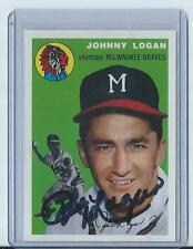 1994 Topps Archives Johnny Logan Auto!! #122 (Braves) Look!!! Hot!!!