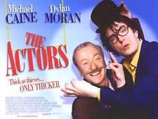 THE ACTORS movie poster (UK Quad Poster) MICHAEL CAINE