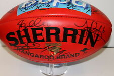 HAWTHORN PREMIERS 2013 TEAM SIGNED SHERRIN FOOTBALL UNFRAMED +PHOTO PROOF &C.O.A