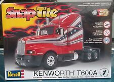 Kenworth T600A Road Tractor 1/32 Scale Snap Tite Plastic Model Kit