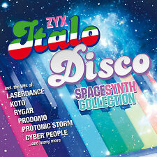 CD ZYX italo discoteca spacesynth Collection di Various Artists 2cds