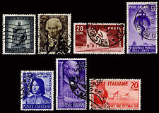1949 ITALY #519-24 - WATERMARK 277 - USED - VF - CV$57.75 (ESP#1461)
