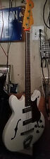 60s VINTAGE HAGSTROM CONCORD SEMI-ACOUSTIC BASS GUITAR (SWEDEN)