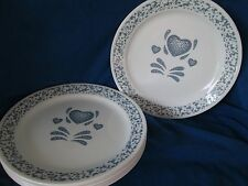 Corelle Blue Heart DESSERT/PIE PLATE (s) Multiples *have more pieces to this set