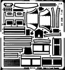 EDUARD 1/35 PE PHOTO-ETCHED DETAIL SET for ITALERI T-26 SOVIET LIGHT TANK