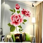 Rose Flower Wall Stickers Removable Decal Home Decor DIY Art Decoration GU