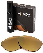 Polarized IKON Replacement Lenses For Ray Ban RB2140 Wayfarer 54MM 24K Gold