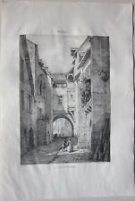 1838 DOYONNÉ MONTLUCON litogra Louis Courtin Achille Allier Desrosiers Montluçon