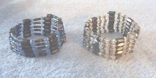 Set of 2 Magnetic Wrap Bracelets
