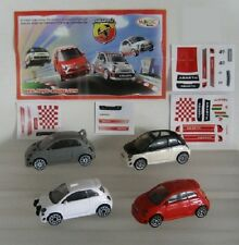 KINDER FERRERO SERIE COMPLETA FIAT 500 CHRYSLER FCA SURPRISE CAKE TOPPER +PAPERS