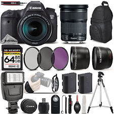 Canon EOS 6D DSLR Camera with 24-105mm STM Lens - Ultimate Saving Bundle Kit