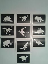 30 x dinosaur stencils boys  for glitter tattoos / cakes   Fund raising children