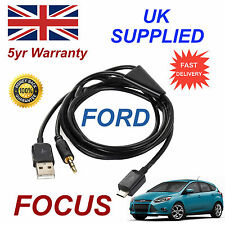 FORD FOCUS Samsung HTC e LG MICRO USB & 3,5 mm Aux Audio cavo di connessione