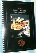THE ROYAL CHINESE RECIPE BOOK by GREENWARE 1993 PB SPIRAL BND