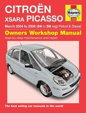 Haynes Owners Workshop Manual Citroen Xsara Picasso Petrol Diesel (04-08)