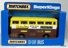 MATCHBOX - K-15 THE LONDONER 'BUTTERKIST' POPCORN DIECAST MODEL BUS
