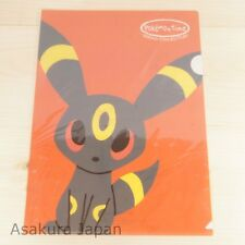 Pokemon Center Original pokémon time A4 Size Clear File Folder Umbreon