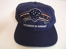 "Vtg WARNER BROS WB MOVIE WORLD ""Hollywood in Germany"" Baseball Hat Snap Back Cap"