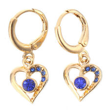 14K Gold Filled Women's Wedding Drop Earrings Gemstone Jewelry Gift E602-3