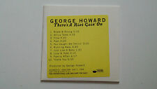 There's a Riot Goin' On George Howard CD advance promo 1998 Blue Note
