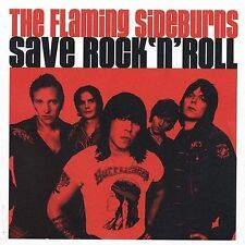 THE FLAMING SIDEBURNS - Save Rock 'n' Roll (CD 2002, Jet Set Records)
